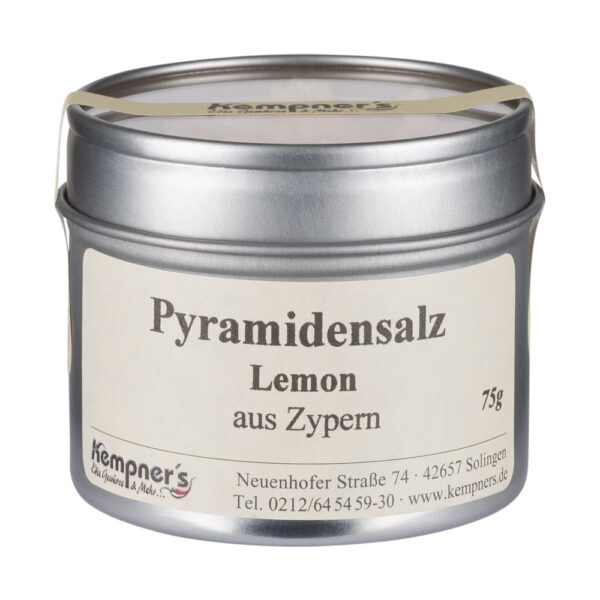 Pyramidensalz Lemon